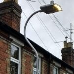 Lamp posts upgraded at last!